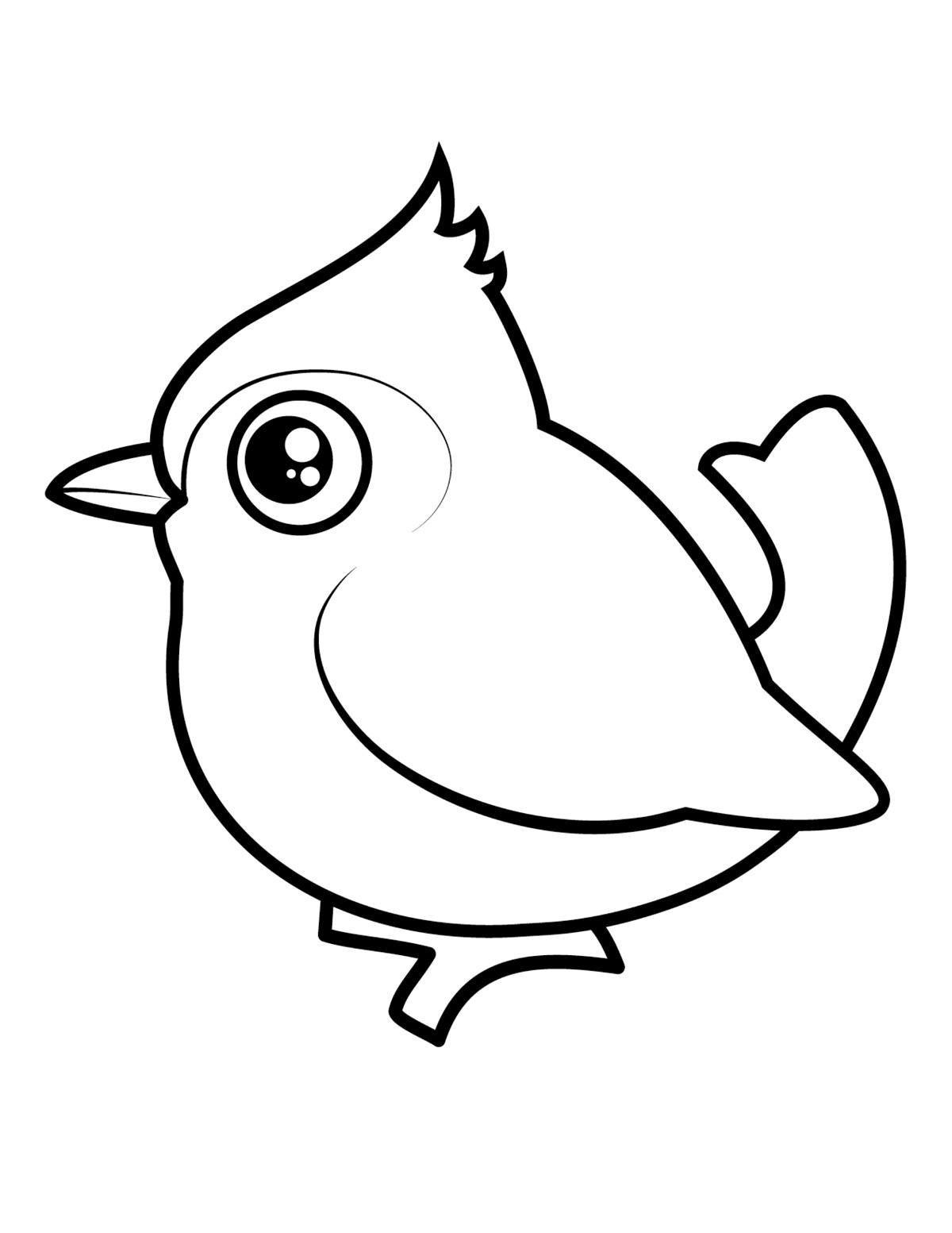 задумка птичка раскраска картинки поборется