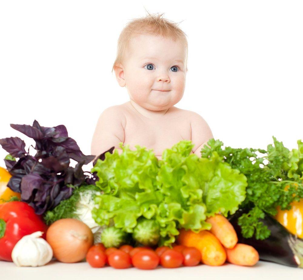 Рацион питания ребенка до года